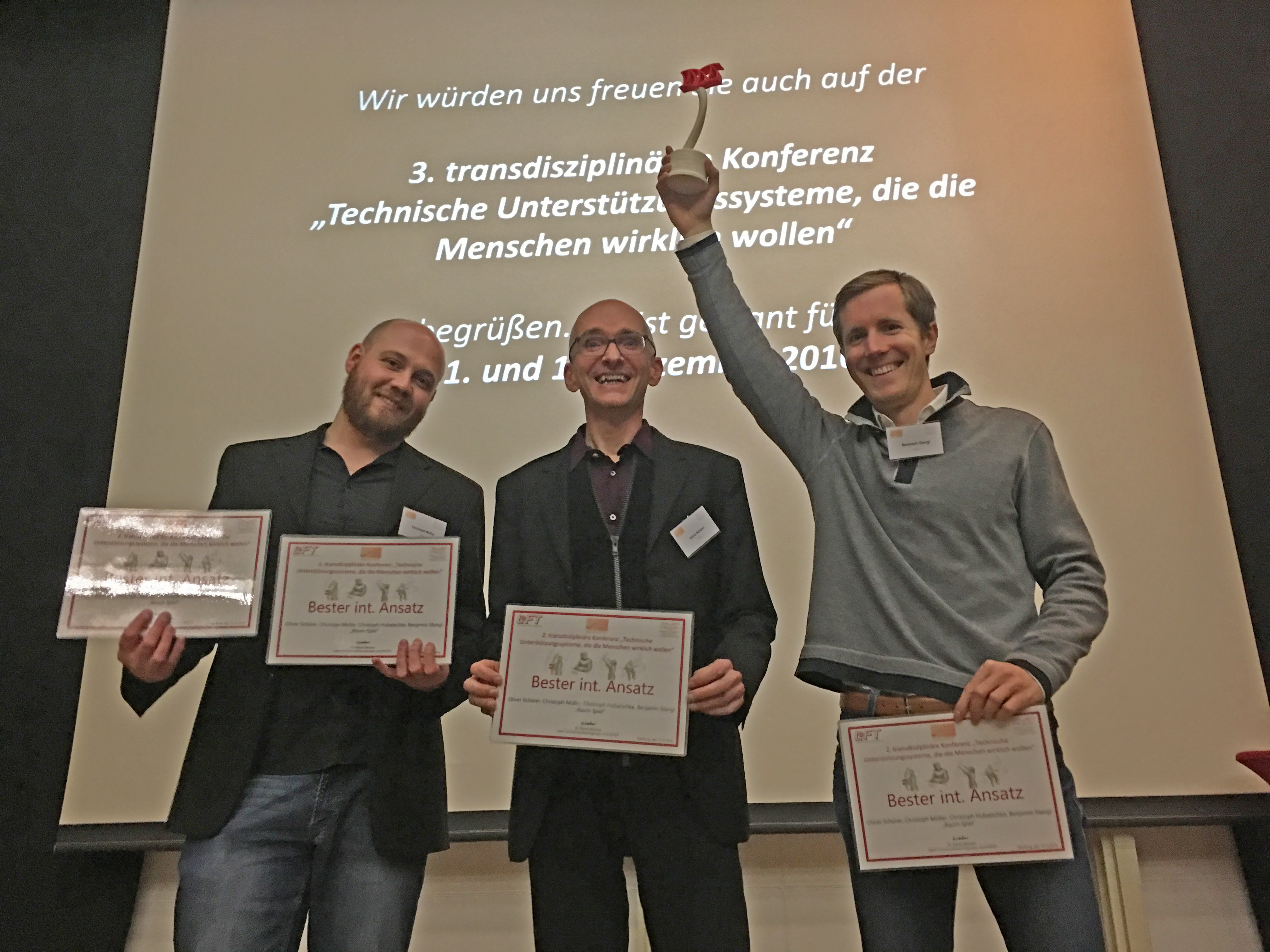 Award for H.A.U.S. at the SmartAssist conference: