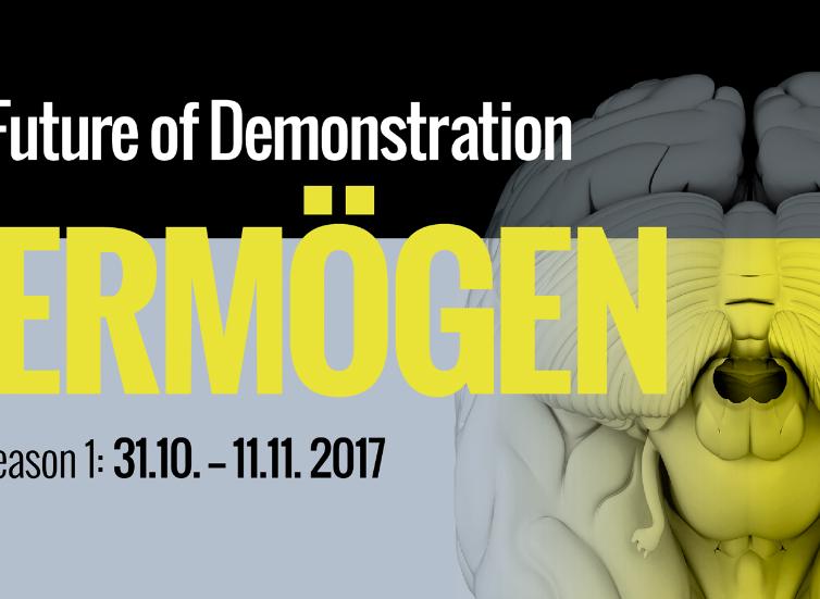 """Performance at Art Festival """"The Future of Demonstration; Vermögen"""" – October 31 – November 11, 2017"""