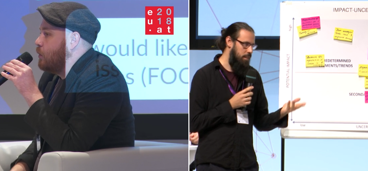 """Christoph and Christoph, Experts in two sessions on the """"Responsible AI of the Future"""""""