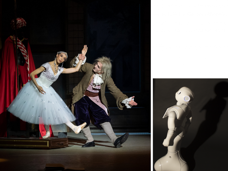 """Robot Machina will visit the opera performance of the doll """"Coppélia"""" at the Vienna Volksoper"""